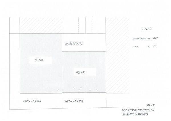 Vimercate – Capannone 1072 mq ca