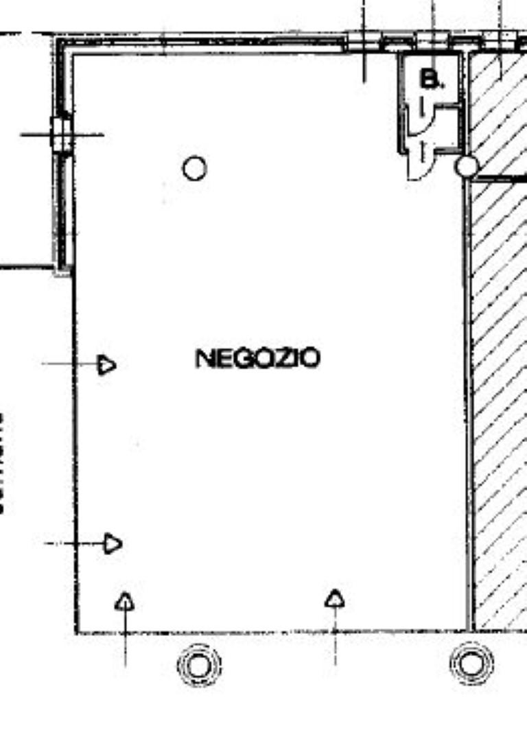 Vimercate – Negozio spazio commerciale da 110 mq