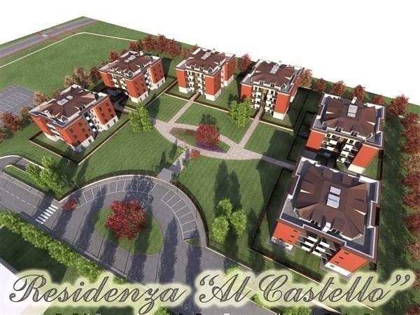 Sulbiate – nuovo tre locali con terrazzo