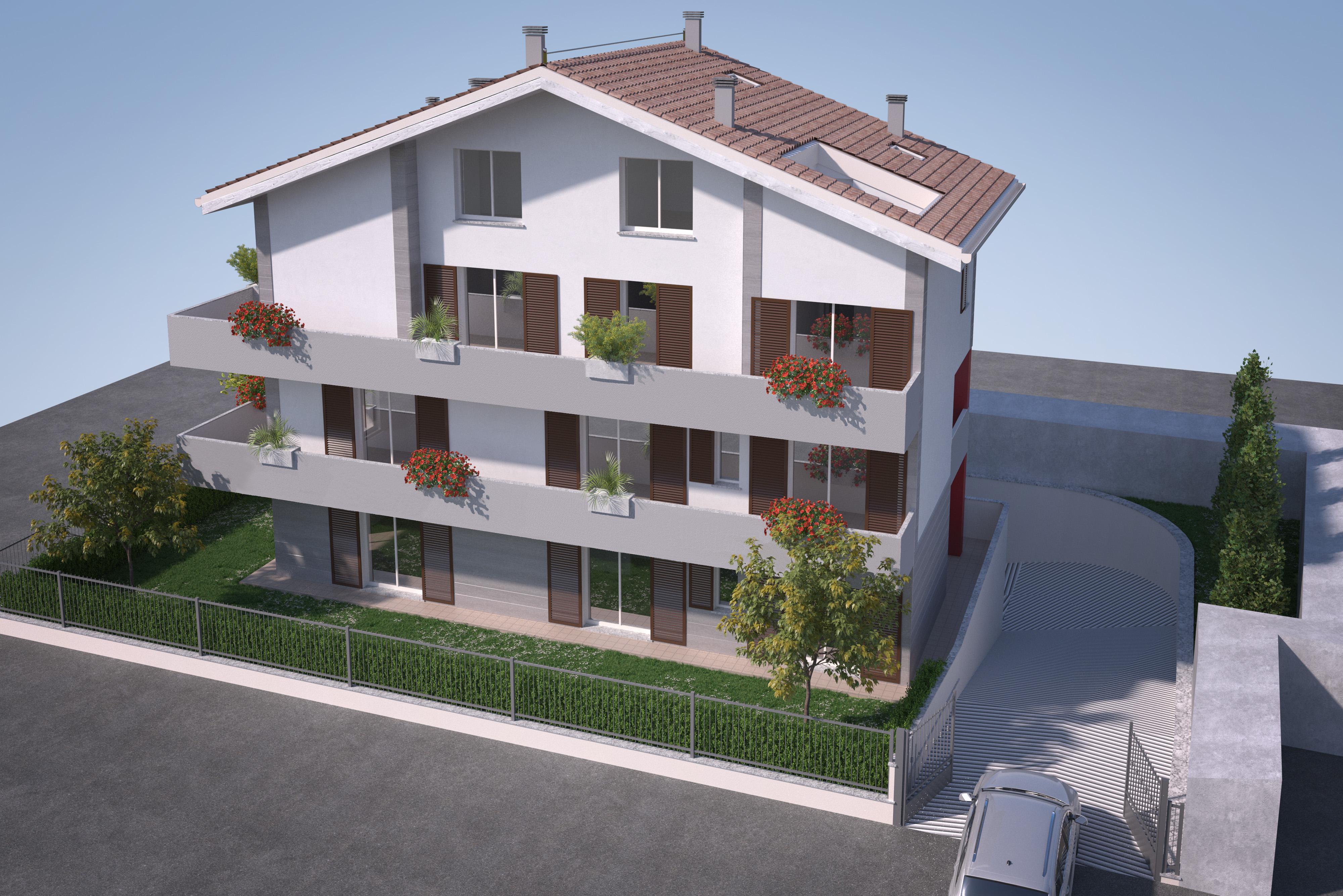 Monza – Appartamento ultimo piano su due livelli con terrazzo
